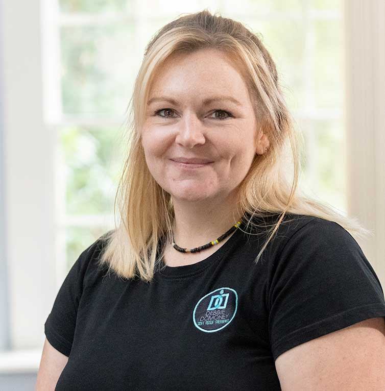 Debbie Domoney - Soft Tissue & Sports Massage Therapist