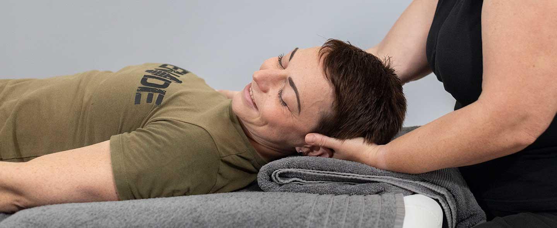Tissue massage for shoulder, upper back & neck pain relief near Ilminster Somerset